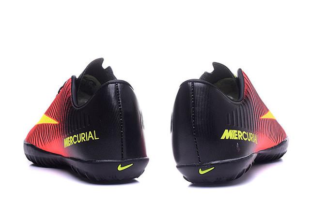 Футбольные сороконожки Nike Mercurial Victory VI TF Total Crimson/Volt/Pink Blast