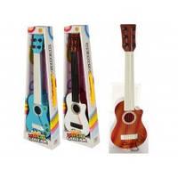 Гитара 296-1 (72шт) 41см, струны 6шт, 3 цвета, в кор-ке, 46-15-5,5см