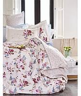 Комплект постельного белья 200х220   KARACA HOME 2017 сатин LESSIE