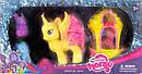 Лошадка My Little Pony, 4шт, карета,  в коробке 7011, фото 2