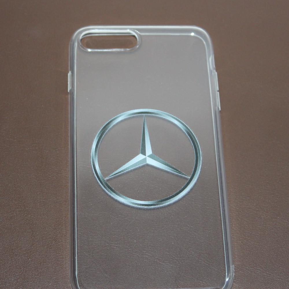 Чехлы для iPhone 7 Mercedes силиконовые