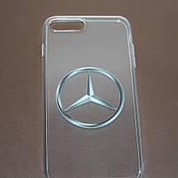 Чехлы для iPhone 7 Mercedes силиконовые, фото 1