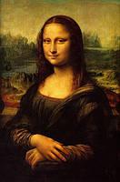 Репродукция картины. Леонардо да Винчи «Мона Лиза»