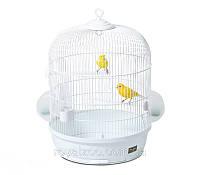 Клетка Pet Inn 109670 Colletta белая для мелких птиц 47 см/54 см