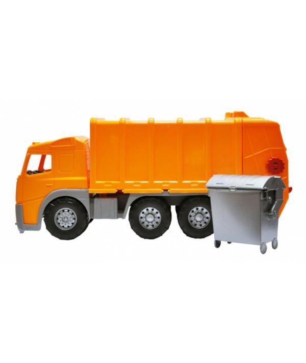 Игрушка Огромная Машинка Dickie Toys Мусоровоз с баком 3315247, 58 см