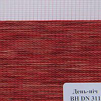 Рулонные шторы День Ночь Ткань Лагуна ВН DN 311 Красный