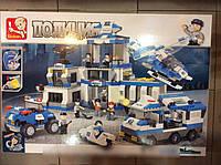 Конструктор SLUBAN M 38 B 0193 Полиция (859 деталей), КК HN