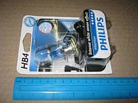 Лампа накаливания HВ4 WhiteVision 12V 55W P22d (+60) (4300K) 1 штуки blister (Производство Philips) 9006WHVB1
