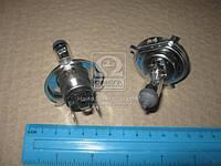 Лампа накаливания H4 VisionPlus12V 60/55W P43t-38 2шт (Производство Philips) 12342VPC2