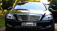 Аренда Mercedes S 600 W221 черный