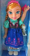 Кукла Эльза музыкальная со снеговиком - Frozen W598B