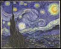 Репродукция картины. Винсент ван Гог «Звёздная ночь»