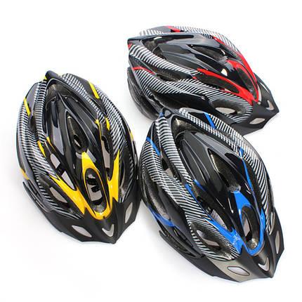 Шлем велосипедный (Синий), фото 2