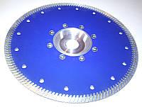"Алмазный диск для резки гранита с фланцем,""BLUE-TURBO"" 230x2,8/2,0x10x22F"