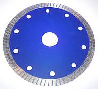 Алмазный Тонкий диск, для резки керамической, плитки  ULTRA-SLIM-BLUE 125x1,2x7x22,23  чистый рез без сколов