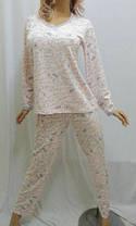Пижама женская с длинным рукавом и длинными брюками, фото 3