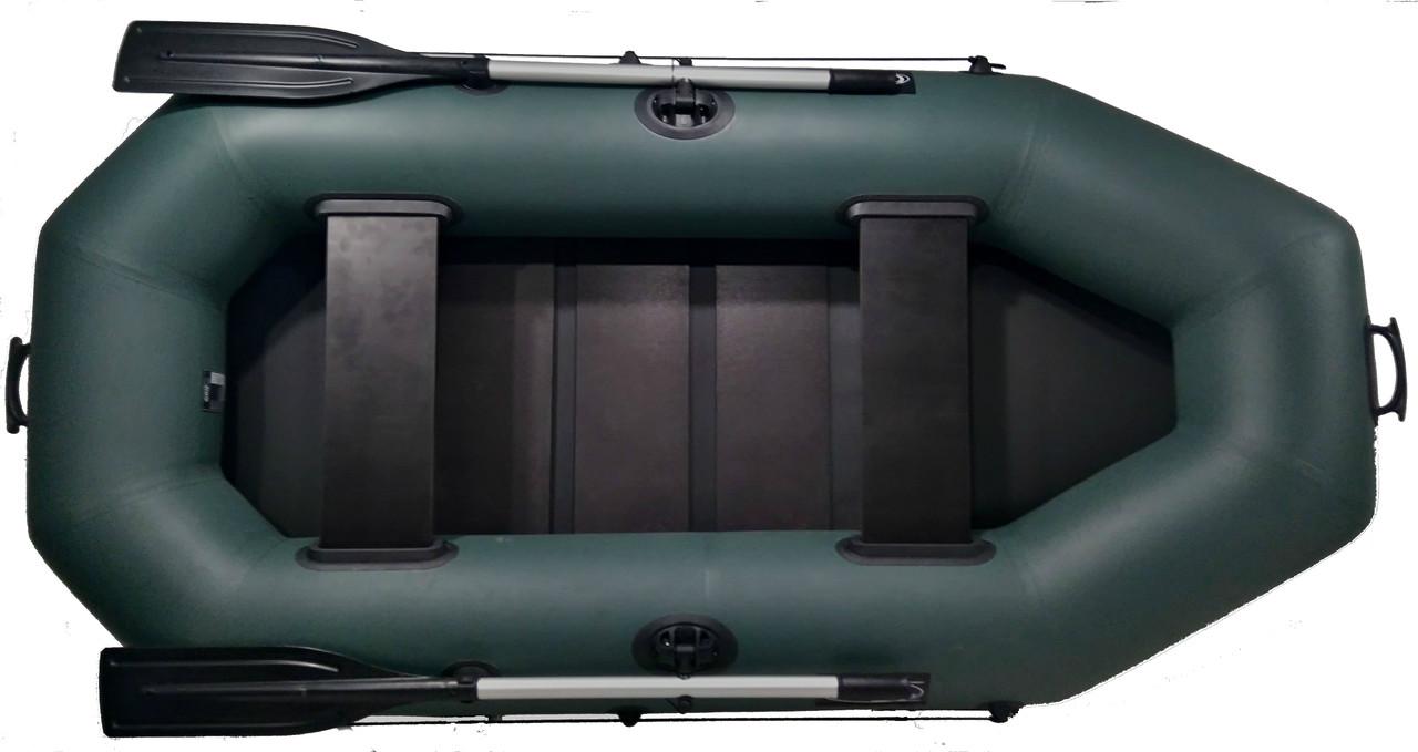 Лодка двухместная надувная пвх Grif boat G-250