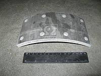 Накладка тормоз ГАЗ 3306,3307,3308,3309 сверленая (Производство ГАЗ) 3309-3502105