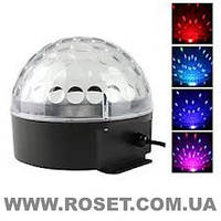 Диско шар LED Ball Light с MP3 +пульт+флешка