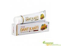 Лечебная аюрведическая зубная паста Дент Канти Эдванст, Dent Kanti Advanced Toothpaste, Patanjali, Аюрведа Здесь