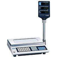 Весы електронные торговые CAS AP-EX