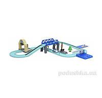 Набор средний трек с Умной машиной Поли Robocar Poli 83282