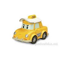 Металлическая машинка Кап Такси Robocar Poli 83175