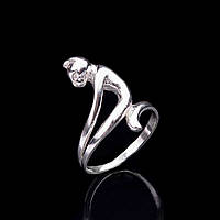 "Серебряное кольцо ""Кошка"""