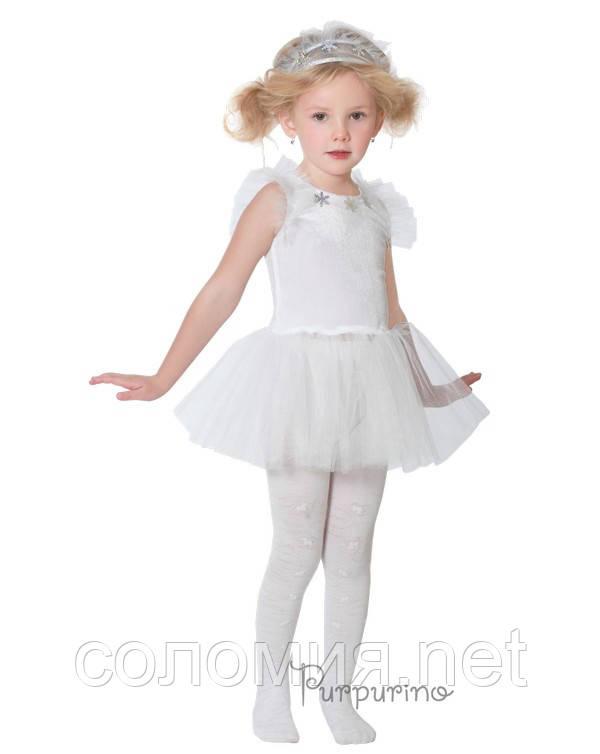 Детский костюм для девочки Снежинка 3
