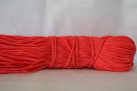 Шнуры вязаные весовые D3мм(1кг=350м)красный