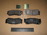 Колодка тормозной HYUNDAI SANTA FE, задней (Производство TRW) GDB3419