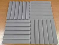 Акустические панели «Оптима 500»  0,5х0,5м толщина 50мм серая  (на фото 4 шт. цена за 1 шт.)