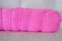 Шнуры вязаные весовые D3мм(1кг =350м)розовый