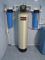 Комплексная очистка воды для дома с 1-2 с/у и до 3 чел. «ECOnom 1054ВВ-С очистка от железа, жесткости, запаха.