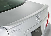Toyota Corolla (2006- ). Сабля ( спойлер ) на багажник
