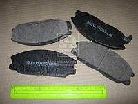 Колодка тормозной HYUNDAI SANTA FE передний (Производство Intelli) D209E