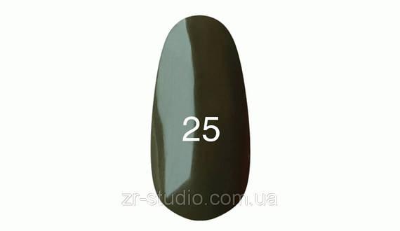 Гель лак Kodi professional 7мл. № 25(Темно -оливковый.Эмаль)