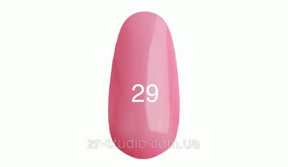 Гель лак Kodi professional 7мл. №29 (Светло-розовый с перламутром.)