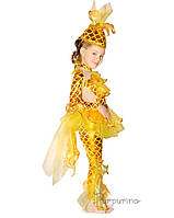 Детский костюм для девочки Золотая рыбка 2