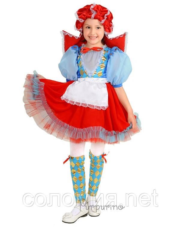 Детский костюм для девочки Красная Шапочка 3