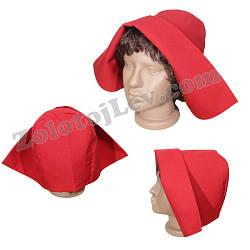 Капор Красной Шапочки для взрослых