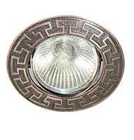 Точечный светильник Feron DL 2008 MR16 ант. медь, ант. золото