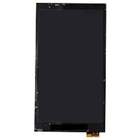 Дисплей (LCD) HTC 802w One M7 Dual Sim с сенсором черный