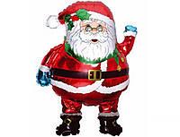 Шар фольгированный Санта Клаус 80 см.