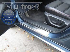 Накладки на пороги Mazda 6 III 2013+