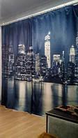Фотошторы Нью-Йорк в живую