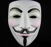 Карнавальная маска Гая Фокса (Анонимус маска)