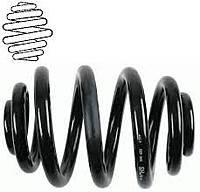 Пружина задняя Ланос Сенс EuroEX (Еврокс) Усиленная