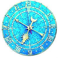 Сборные часы-пазл Биг Бен 126-22 Умбум (синие)