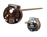 Терморегулятор механический RTS 3 / 20А / 250V с флажком с защитой (для ТЭНов)